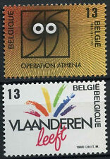 Belgium 1988 SG#2940-1 Regional Innovations MNH Set #D1482