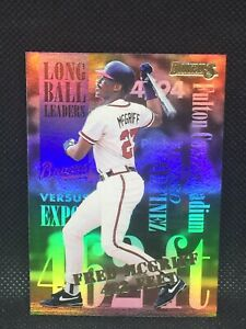 1994 Donruss Long Ball Leaders #4 Of 8 FRED MCGRIFF STAR MINT