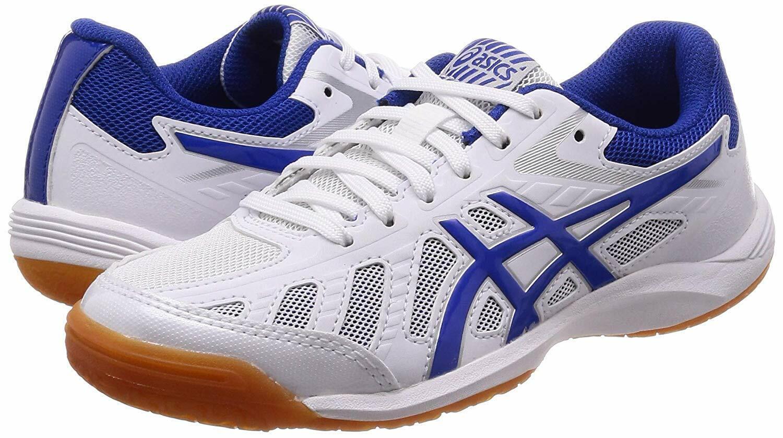 Asics Japón ataque hyperbeat SP 3 Zapatos tenis de mesa 1073A004 blancoo Azul