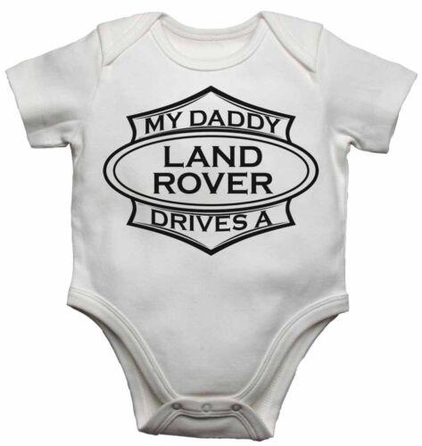 My Daddy Laufwerke ein Land Rover Baby Kleinkind Weste Neugeborenes Body Wachsen
