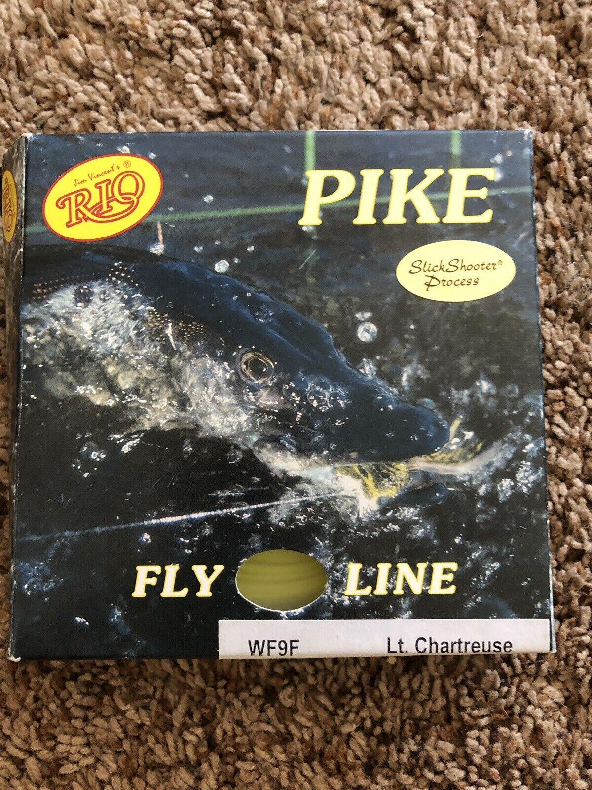 fino al 50% di sconto Pike Fly Line Rio Feet Chartreuse WF9F
