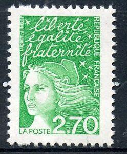 Mon ChéRi Timbre France Neuf N° 3091a ** Sans Phosphore Marianne Du 14 Juillet Cote 30 € Larges VariéTéS