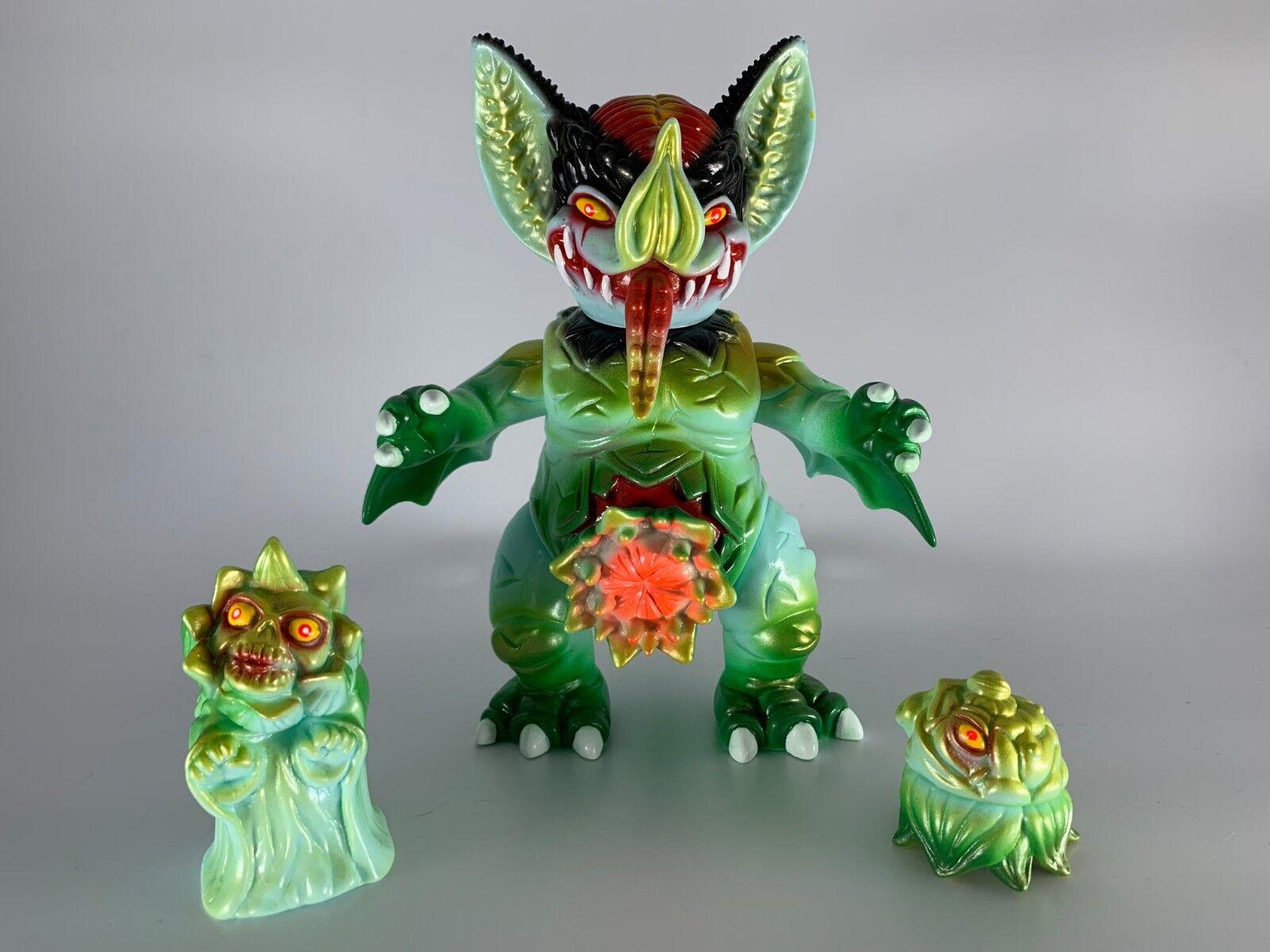 Paul Kaiju mockbat conjunto de diseñador con 16 Sofubi Devilman Colorway