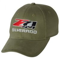 Chevrolet Silverado Z71 4x4 Olive Green Brushed Cotton Hat