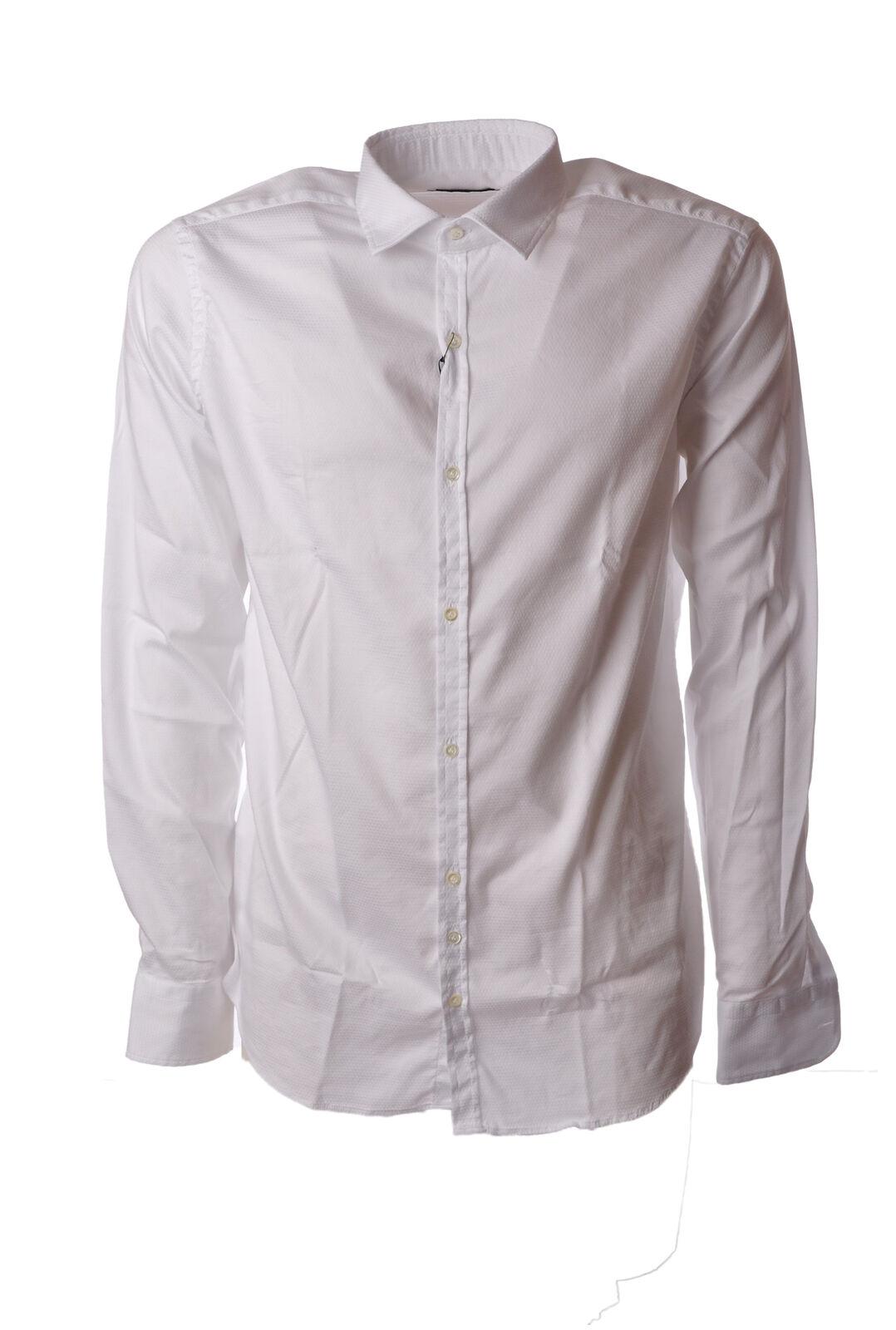 Aglini - Shirts-Shirt - Man - White - 5047620F184419