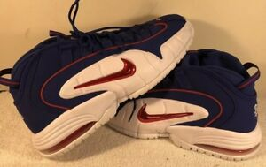 Details about NIKE AIR MAX PENNY 1 DEEP ROYAL BLUE GYM RED WHITE MEN'S SIZE 11 Basketball Shoe