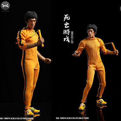 Game of Death Bruce Lee Action Figure Movie Trading Cards Included