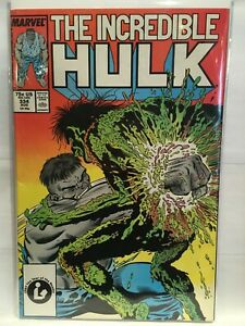 Incredible-Hulk-Vol-1-334-VF-1st-Print-Marvel-Comics