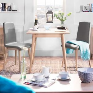 Details About Edvard Olsen Oak Square Table Solid Light Oak Kitchen Dining Table High Quality
