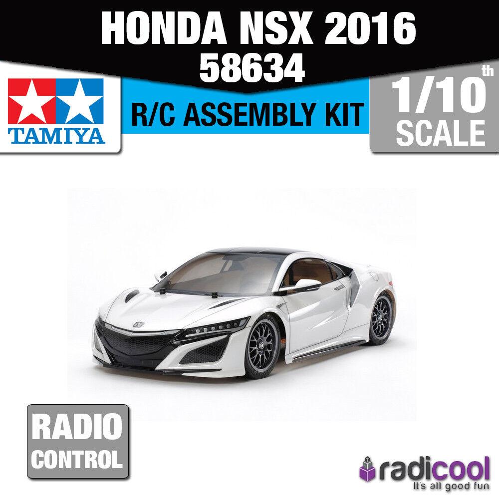 58634 TAMIYA HONDA NSX 2016 TT-02 1/10th R/C KIT radiocomando auto