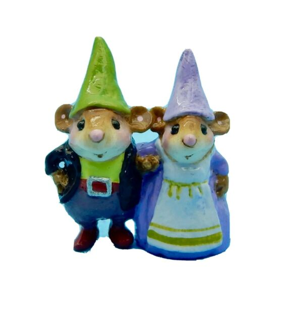 Wee Forest Folk Special Expo Mary Mary Quite Contrary Purple