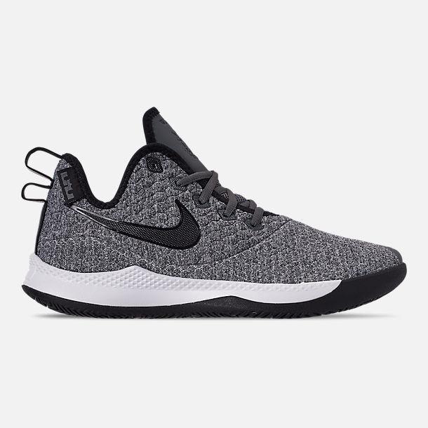 AO4433-002 Nike LeBron Witness III Basketball Dark Grey Black-White 8-13 NIB
