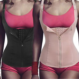 Fajas-Reductoras-Colombianas-Body-Shaper-Vest-Waist-Trainer-Tummy-Control-Corset