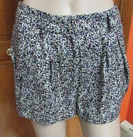 Bcbg Multi-color Polyester Shorts Size 4 Msrp:$88