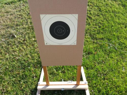 ITM Paper Target Holder Stand ~ Gun ~ Shooting ~ Sighting ~ Firearm