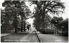 Bramhall lane Bramhall unused RP old postcard by Valentines