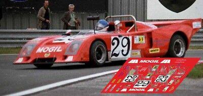 Calcas Chevron B36 Le Mans 1979 29 1:32 1:24 1:43 1:18 64 87 Slot Decals Facile E Semplice Da Gestire