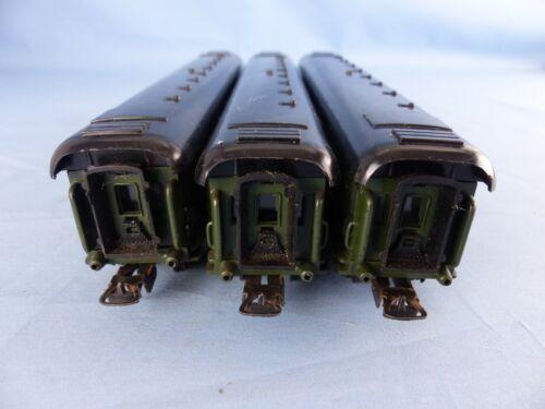 LIMA Ho lot de 3 wagons forestiers militaires SNCF A10 myfi 20045 1ère classe