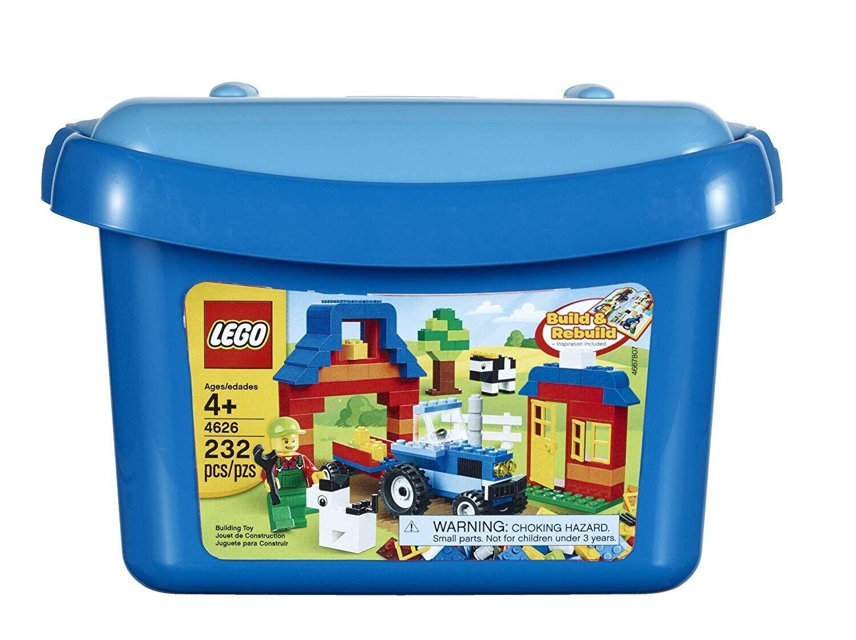 Lego 4626 Ladrillos Y Más Caja De Ladrillo-Envío Gratis Rápido