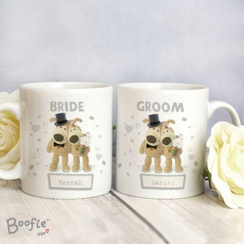 Boofle Wedding Just Married Personalised Gifts Groom Bridesmaid Bride