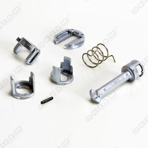 Details about BMW E46 DOOR LOCK REPAIR KIT FRONT-RIGHT 6 PARTS *NEW*