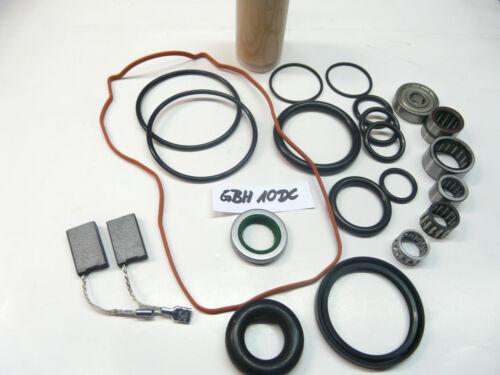 Reparatursatz Bosch GBH 10 DC Wartungset !!!! Verschleissteilesatz