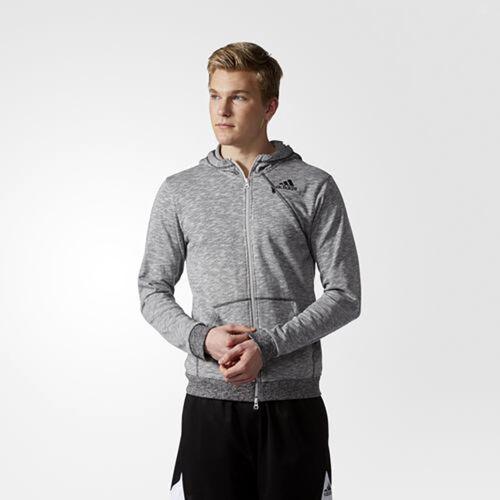 grijs up Zip Hoodie Full Heren Adidas S96168 Cross Jacket Zwart BPw6qq0Z
