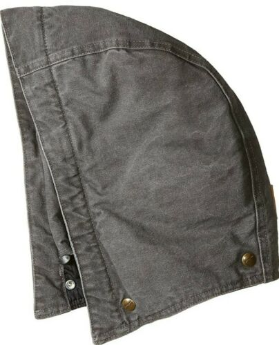 Carhartt vintage WIP NWT Sandstone Hood Arctic Quilt Lined Gravel Gray $25 MSRP