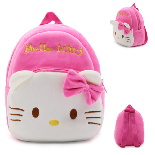 envío Gratuito! Bolsa Mochila Chicas Jardín de Infancia Peluche Kid/'s Hello Kitty Cartera