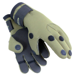 Dirt-Boot-Neoprene-Fishing-Green-Gloves-Folding-Fingers-Shooting-Hunting-M-L-XL