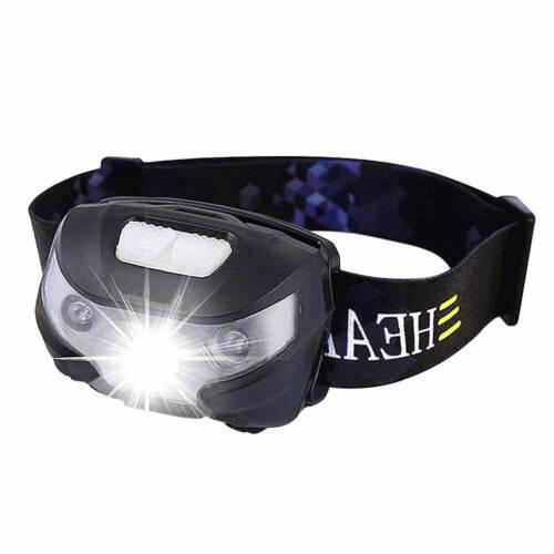 USB Sensor Rechargeable Head Torch Super Bright Headlamp Headlight Lamp Lumens