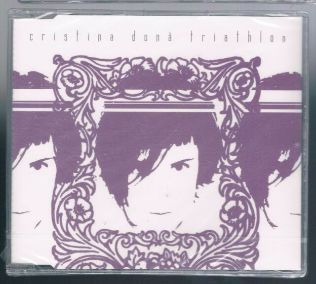 CRISTINA DONA' TRIATHLON  CD SINGOLO cds SIGILLATO!!!