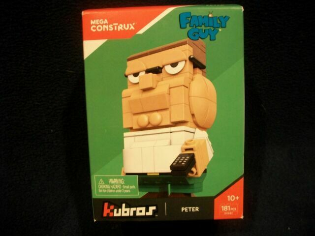 Mega Construx Kubros Family Guy Peter And Assassins Creed Building Bundle