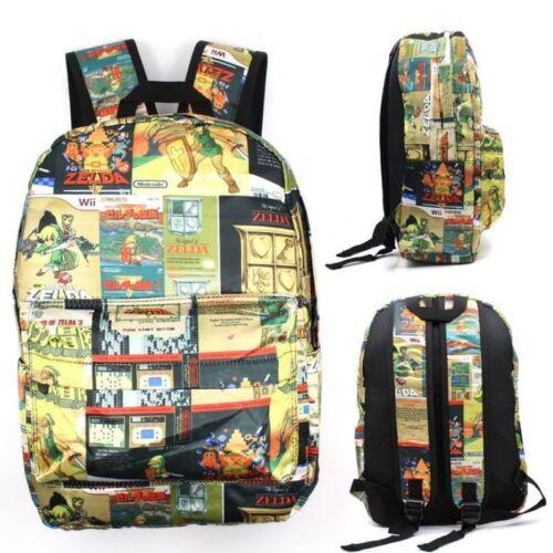"""The Legend of Zelda 17/"""" shoulder bag backpack unisex school bags mix fashion hot"""