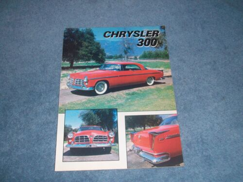 1955 Chrysler 300 Vintage History Info Article From 1982