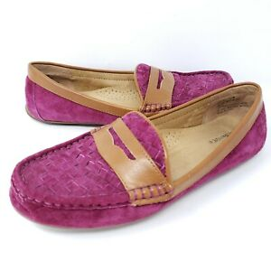 GH Bass Co Women's Becca Penny Loafers Driving Flats ...