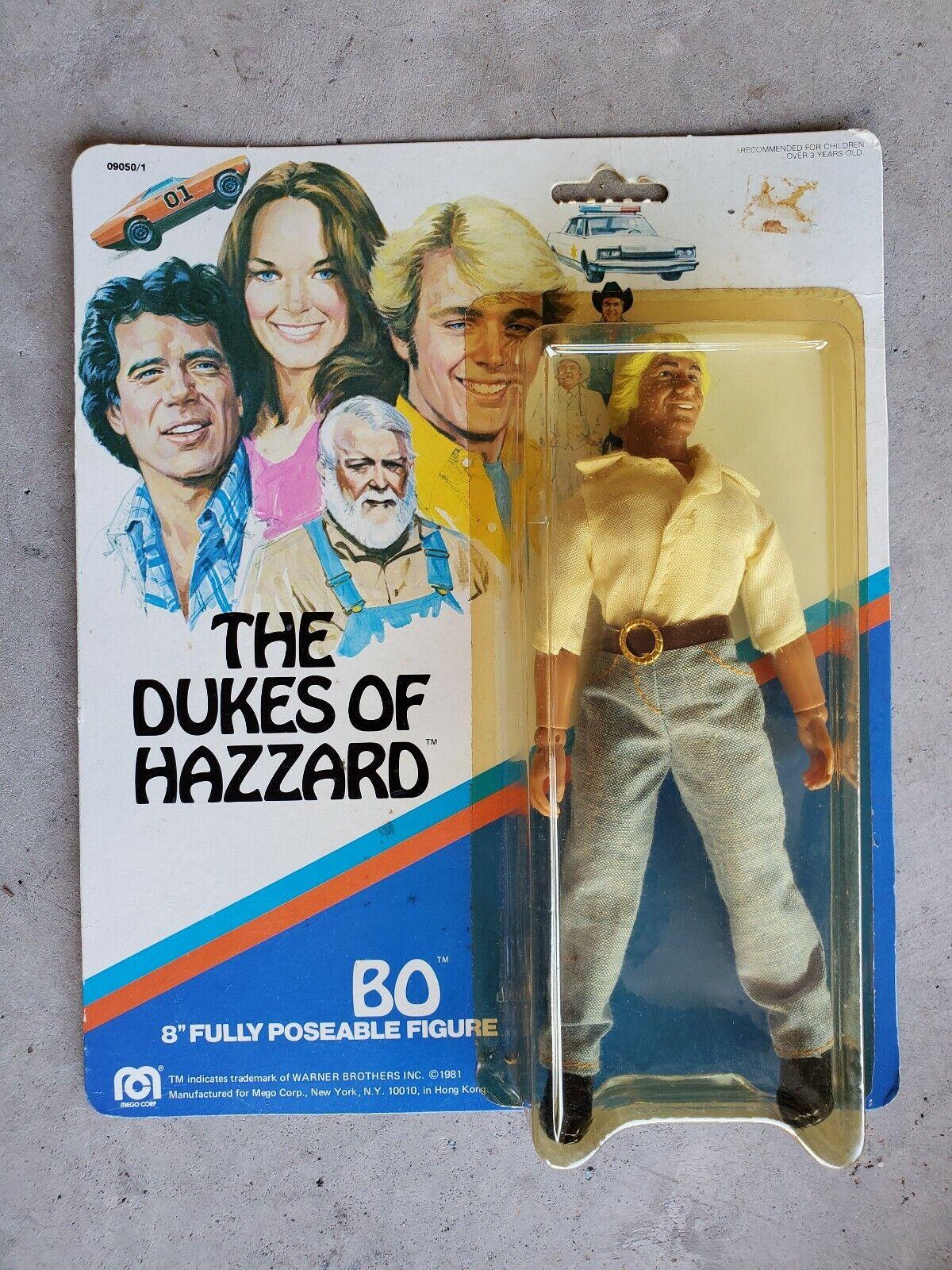 Vintage Mego The Dukes of Hazzard BO 8   Clean sur voiturete 1981 NICE  réduction en ligne