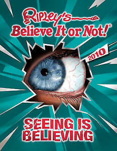 """AS NEW"" Ripley, Robert Leroy, Ripley's Believe it or Not 2010, Book"