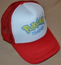 Red Pokemon Trainer Go Hat Ball Cap Outfit Apparel Team Valor Boys & Girls
