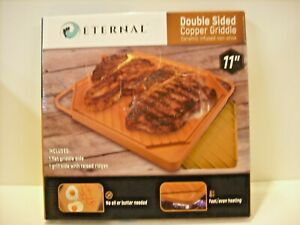 Eternal Double Sided Copper Griddle Ceramic Infused Non