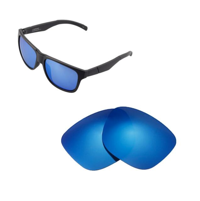 2e7ad0c6bf2 Walleva Polarized Ice Blue Replacement Lenses for Smith Lowdown for ...