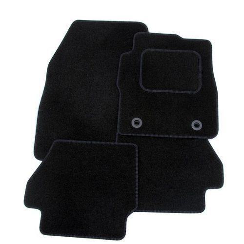 VW VOLKSWAGEN EOS 2006 ON-Tailored Carpet Car Floor BLACK MATS WITH BLACK EDGING