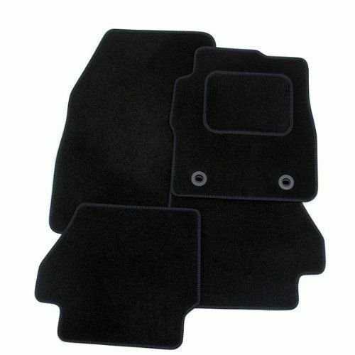 NISSAN JUKE 2010 ON Tailored Fit Carpet Car Floor BLACK MATS WITH BLACK EDGING