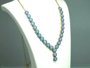 Turkish-Handmade-Jewelry-925-Sterling-Silver-Turquoise-Stone-Women-Necklace