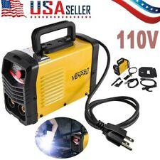 225a Mig Electric Welder Inverter Welding Machine 110v Ac Flux Core Wire Gasless