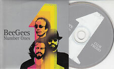 BEE GEES Number Ones Club Promo 2004 UK 4-trk promo CD card sleeve