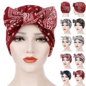 Ladies Women Hair Loss Scarf Cancer Chemo Cap Muslim Turban Hat Hijab Head Wrap