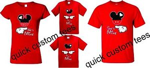Mickey-and-Minnie-T-Shirts-Soul-Mate-Couple-matching-funny-cute-he-039-s-she-039-s-mine