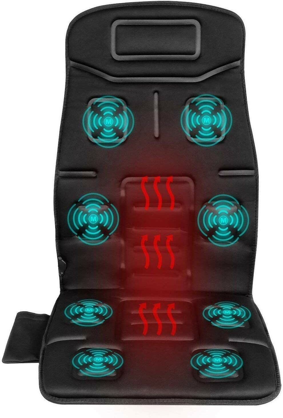 Image result for Naipo Back Massage Chair Vibrating Car Seat