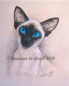 Siamese-cat-art-print-large-Ltd-edition-from-original-painting-Suzanne-Le-Good
